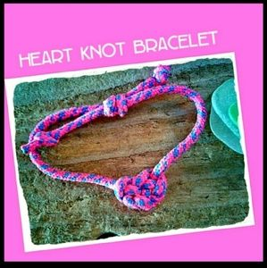 3 for$7 Paracord Eternity & Heart Knot Bracelets